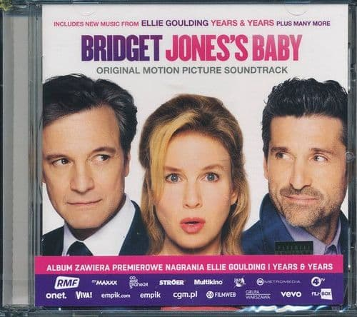 """Various<br>Music From The Motion Picture """"Bridget Jones's Baby""""<br>CD, Comp"""